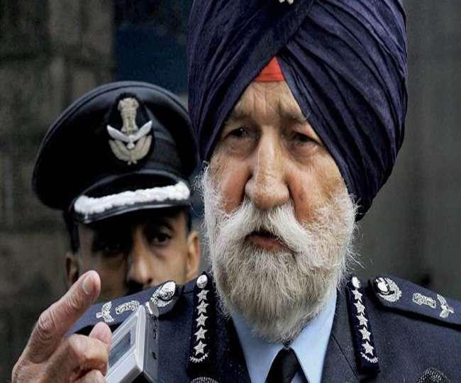 राजकीय सम्मान के साथ आज होगा मार्शल अर्जन सिंह का अंतिम संस्कार