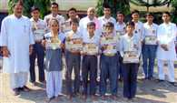Vidhyamandir won the science compitition