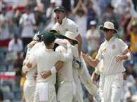 Emotional Aussies win Perth test and regain Ashes