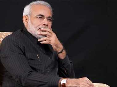 No need to surrender, says Modi