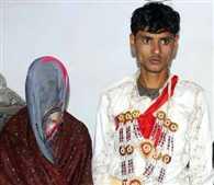 After seven rounds, groom arrived in Detention