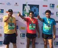 Mumbai Marathon in favour of Rajasthani officers