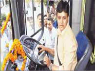 DTC gets its first woman bus driver