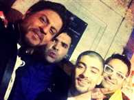 Shah Rukh Khan parties with popstar Zayn Malik