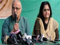 Teesta and her husband found relief from arrest