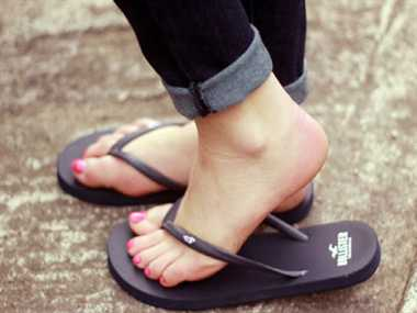 Flip-flops and foot pain