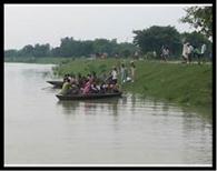14 गांवों में घुसा घाघरा का पानी