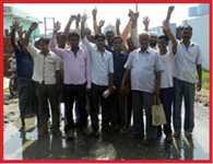 water logging problem in nagla mandir