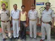 up sitapur news historysheeter arrested