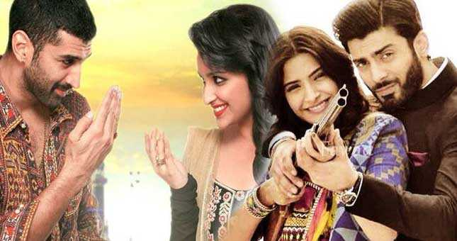 Upcoming films daawat e ishq and Khubsurat