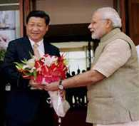 Chinese media highlights Modi-Xi bonhomie