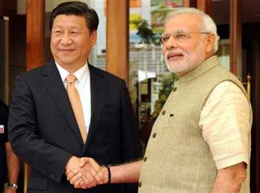 indo-china: official meeation between xi and modi will held today in hyderabad house