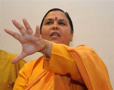 Bharti seeks FRI's help in cleaning Ganga