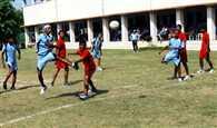 Rana Pratap won Handball match