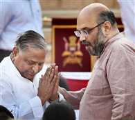 Amit Shah Open Challange To Mulayam Singh