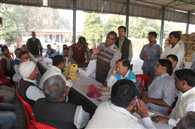 farmers angry in workshop