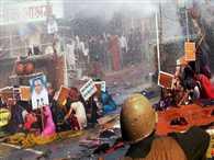 Hisar : firing at Rampal's ashram
