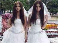 Meet the newly wed husband and wife who look like identical twins