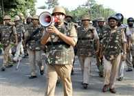 High Alert In UP, Sequrity Tight