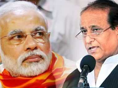 UP minister Mohd Azam Khan calls PM Narendra Modi a Large-hearted