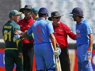 David Warner fined for spat with Rohit Sharma in MCG ODI