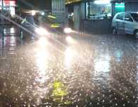 Hail falls in Sehore, Heavy rains in Bhopal