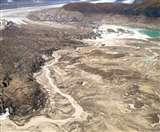 सिर्फ चार दिन में कनाडा की स्लिम्स नदी हो गई गायब...!