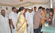 Congressmen Rahul Gandhi's birthday celebrated