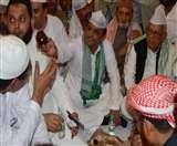 मुलायम, आजम के बगैर अखिलेश के नेतृत्व में हुई सपा की इफ्तार पार्टी