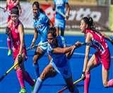 वर्ल्ड लीग सेमीफाइनल: क्वार्टर फाइनल में इंग्लैंड से 1-4 से हारी भारतीय महिला हॉकी टीम