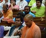 1.45 hour: यूपी विधानसभा में योगी ने विपक्ष पर फोड़ा बदहाली का ठीकरा