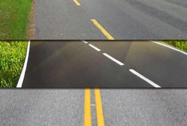 Image result for सड़क पर बनी इन लाइनों का मतलब