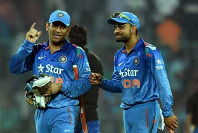Kohli will be the best captain in all formats: Dhoni