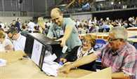 Vote counting begins in Scotland on independence