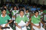 Akshat, Sakshi and Anshita won the compitition