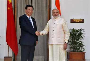 Modi talks tough with China's president Xi on border row
