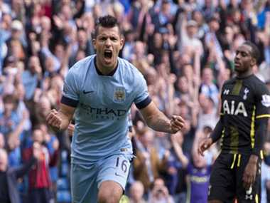 Aguero powers Manchester City to a great win