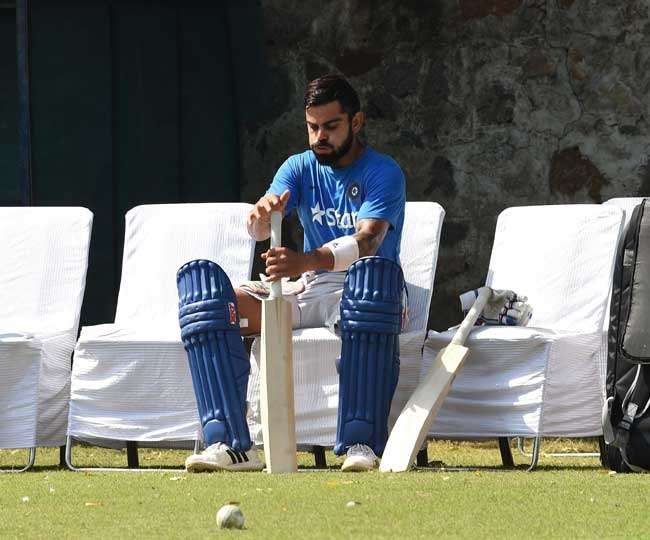 Virat Kohli says he is afraid of just his coach