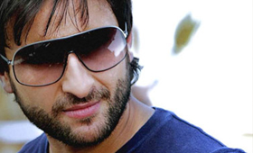 Saif plays triple role in hum