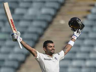 Virat keeps his promise to childhood coach by a ton