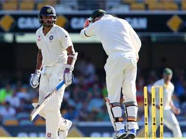 australia vs india 2nd test match 3rd day