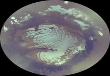 Earth meteorite indicates water reservoir on Mars