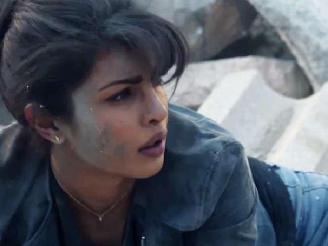 priyanka chopra tell the story about his injury during  quantico Shooting