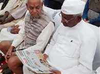 Anna hazare again calling in ramlila maidan to save water, forest and land