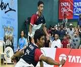 श्लोक व अर्जुन ने जीता 40वां आइएससी एपेक्स एलीट बैडमिंटन चैंपियनशिप का खिताब