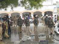 Sivan Civil hospital after crash killed five fuss