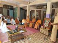 Sanskrit conversation  camp started at Ujeli