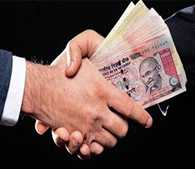 Professor arrested while accepting bribe of  Rs 2000