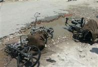 पेट्रोल की बजाय बैरल से निकली आग, दो बाइकें हुईं राख