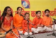 शार्गिदों ने सजायी संगीत की महफिल